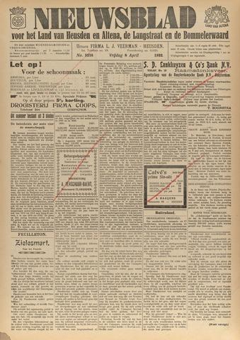 Nieuwsblad het land van Heusden en Altena de Langstraat en de Bommelerwaard 1932-04-08