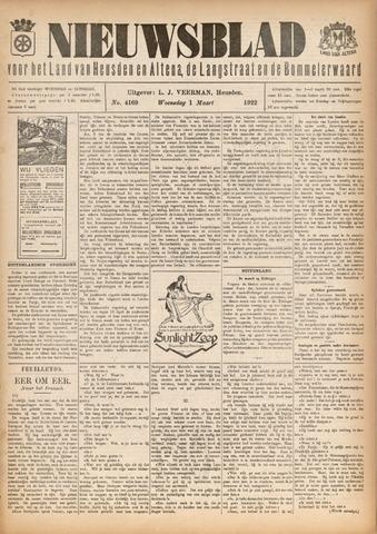 Nieuwsblad het land van Heusden en Altena de Langstraat en de Bommelerwaard 1922-03-01