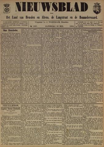 Nieuwsblad het land van Heusden en Altena de Langstraat en de Bommelerwaard 1894-05-19