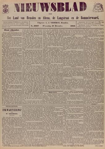 Nieuwsblad het land van Heusden en Altena de Langstraat en de Bommelerwaard 1910-12-21
