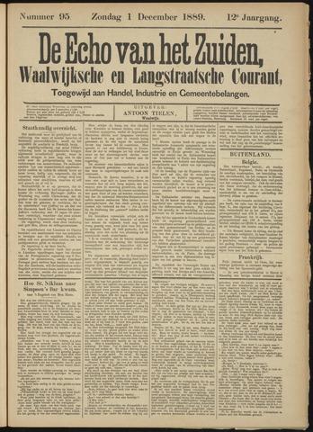 Echo van het Zuiden 1889-12-01