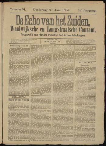 Echo van het Zuiden 1895-06-27