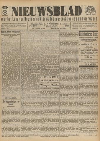 Nieuwsblad het land van Heusden en Altena de Langstraat en de Bommelerwaard 1923-04-06