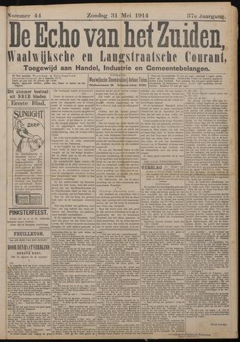 Echo van het Zuiden 1914-05-31