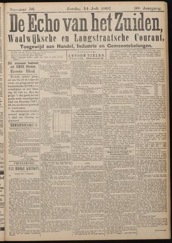 Echo van het Zuiden 1907-07-14