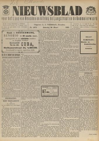 Nieuwsblad het land van Heusden en Altena de Langstraat en de Bommelerwaard 1921-03-26