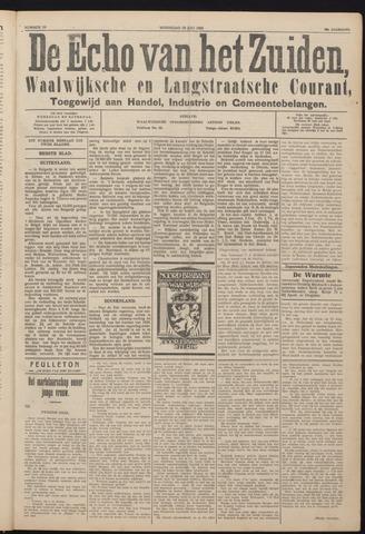 Echo van het Zuiden 1925-07-29
