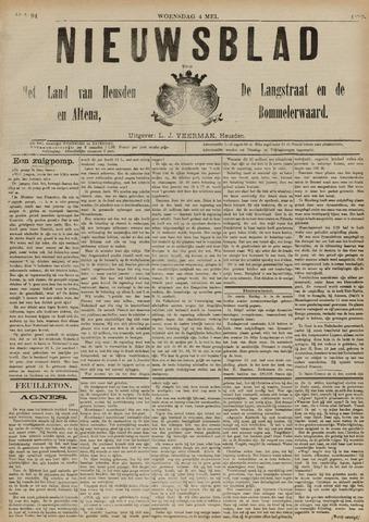 Nieuwsblad het land van Heusden en Altena de Langstraat en de Bommelerwaard 1892-05-04