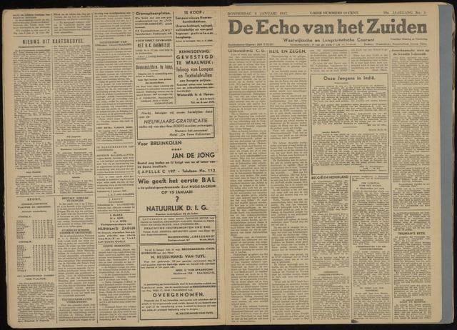Echo van het Zuiden 1947-01-09