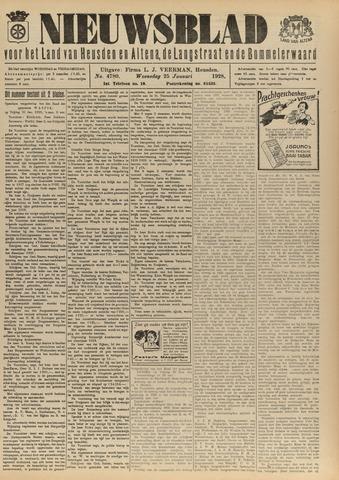 Nieuwsblad het land van Heusden en Altena de Langstraat en de Bommelerwaard 1928-01-25