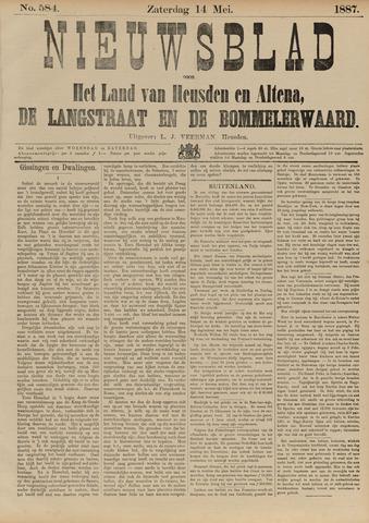 Nieuwsblad het land van Heusden en Altena de Langstraat en de Bommelerwaard 1887-05-14