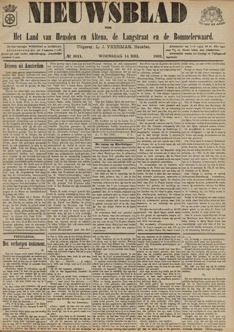 Nieuwsblad het land van Heusden en Altena de Langstraat en de Bommelerwaard 1902-05-14