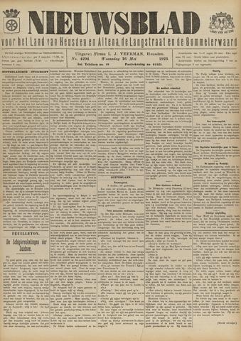 Nieuwsblad het land van Heusden en Altena de Langstraat en de Bommelerwaard 1923-05-16