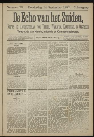 Echo van het Zuiden 1882-09-14