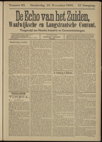 Echo van het Zuiden 1888-11-22