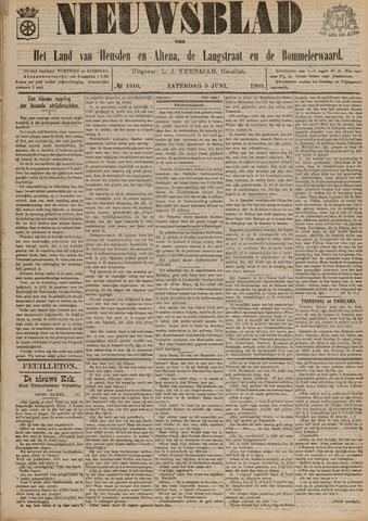 Nieuwsblad het land van Heusden en Altena de Langstraat en de Bommelerwaard 1900-06-09