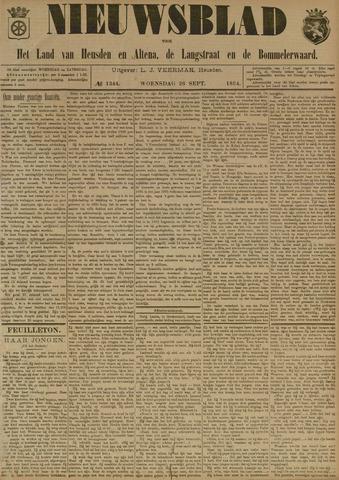 Nieuwsblad het land van Heusden en Altena de Langstraat en de Bommelerwaard 1894-09-26