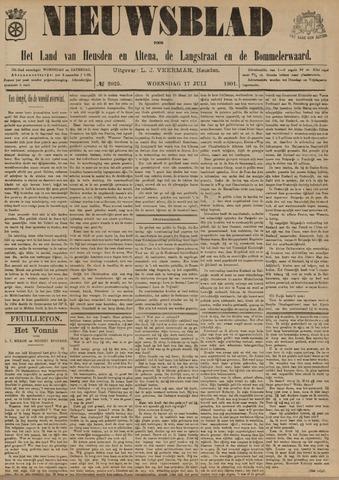 Nieuwsblad het land van Heusden en Altena de Langstraat en de Bommelerwaard 1901-07-17