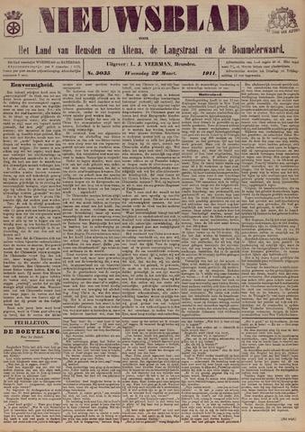 Nieuwsblad het land van Heusden en Altena de Langstraat en de Bommelerwaard 1911-03-29
