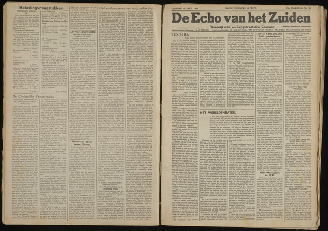 Echo van het Zuiden 1948-04-13