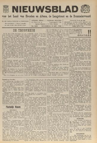 Nieuwsblad het land van Heusden en Altena de Langstraat en de Bommelerwaard 1948-09-23