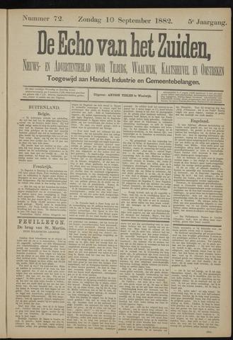 Echo van het Zuiden 1882-09-10