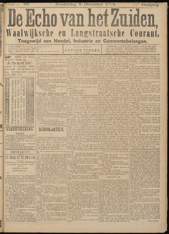 Echo van het Zuiden 1904-12-08
