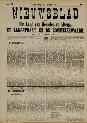Nieuwsblad het land van Heusden en Altena de Langstraat en de Bommelerwaard 1883-08-15