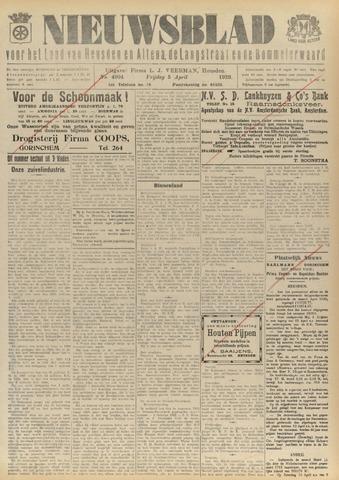 Nieuwsblad het land van Heusden en Altena de Langstraat en de Bommelerwaard 1929-04-05