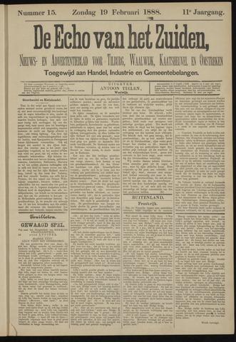 Echo van het Zuiden 1888-02-19