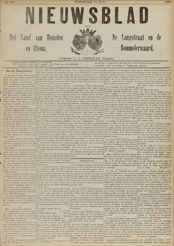 Nieuwsblad het land van Heusden en Altena de Langstraat en de Bommelerwaard 1890-06-11