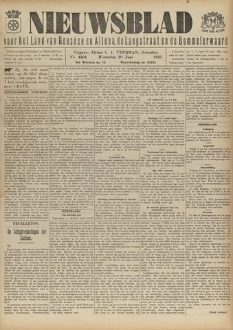 Nieuwsblad het land van Heusden en Altena de Langstraat en de Bommelerwaard 1923-06-20