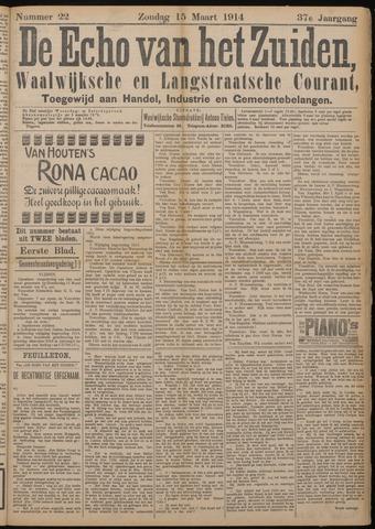 Echo van het Zuiden 1914-03-15