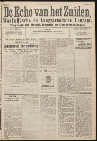 Echo van het Zuiden 1938-12-28