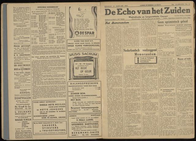 Echo van het Zuiden 1947-01-21