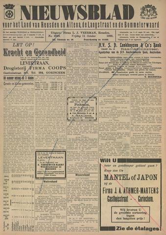 Nieuwsblad het land van Heusden en Altena de Langstraat en de Bommelerwaard 1929-10-11
