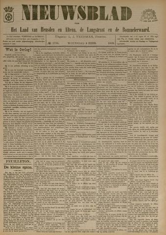 Nieuwsblad het land van Heusden en Altena de Langstraat en de Bommelerwaard 1899-02-08