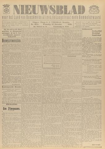Nieuwsblad het land van Heusden en Altena de Langstraat en de Bommelerwaard 1928-12-19