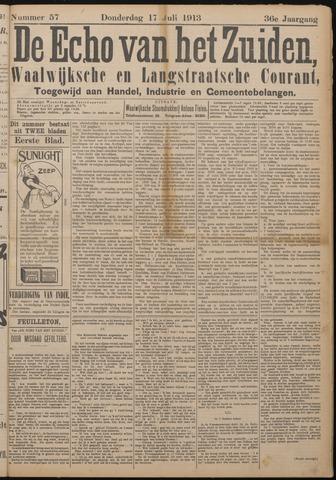 Echo van het Zuiden 1913-07-17