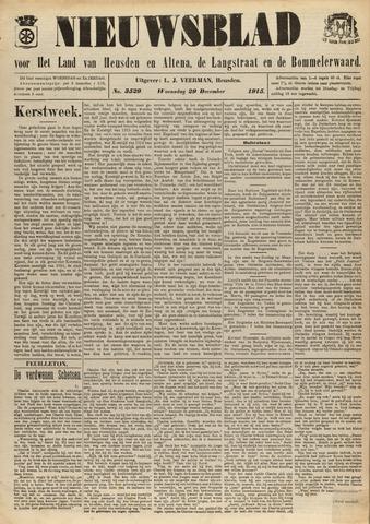 Nieuwsblad het land van Heusden en Altena de Langstraat en de Bommelerwaard 1915-12-29