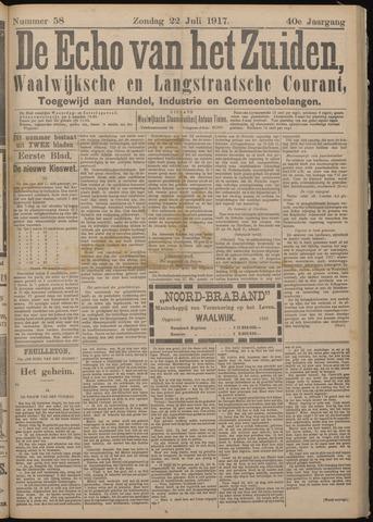 Echo van het Zuiden 1917-07-22