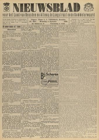 Nieuwsblad het land van Heusden en Altena de Langstraat en de Bommelerwaard 1929-09-04