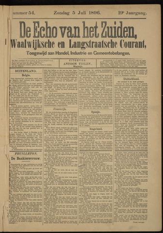 Echo van het Zuiden 1896-07-05