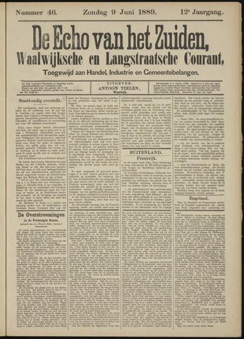 Echo van het Zuiden 1889-06-09