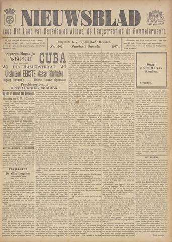 Nieuwsblad het land van Heusden en Altena de Langstraat en de Bommelerwaard 1917-09-01