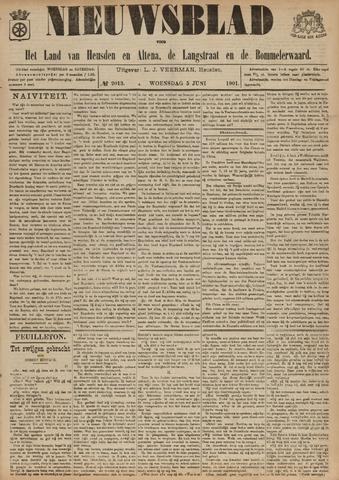 Nieuwsblad het land van Heusden en Altena de Langstraat en de Bommelerwaard 1901-06-05