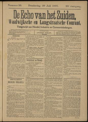 Echo van het Zuiden 1897-08-01