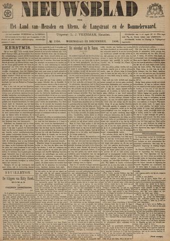 Nieuwsblad het land van Heusden en Altena de Langstraat en de Bommelerwaard 1896-12-23