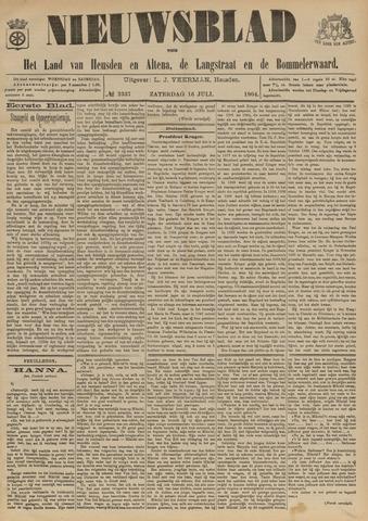 Nieuwsblad het land van Heusden en Altena de Langstraat en de Bommelerwaard 1904-07-16