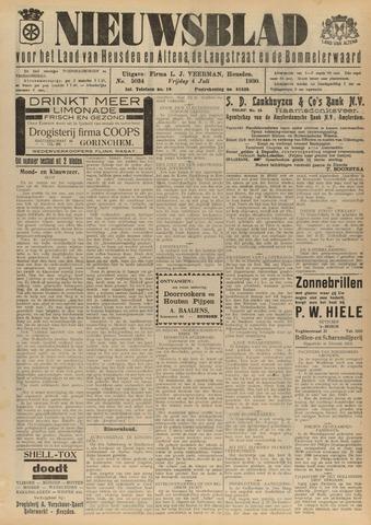 Nieuwsblad het land van Heusden en Altena de Langstraat en de Bommelerwaard 1930-07-04